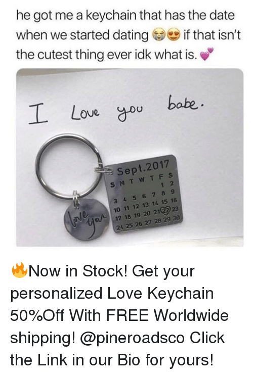keychain dating