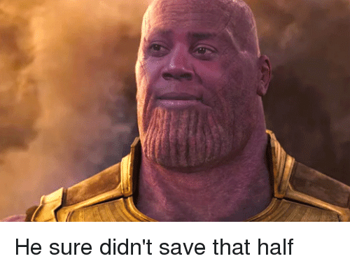 Mad, Universe, and The Universe: He sure didn't save that half