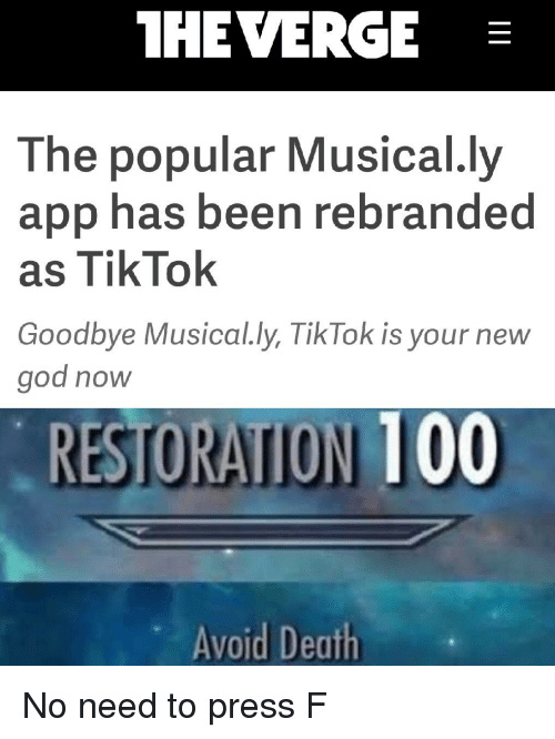 HE VERGE the Popular Musically App Has Been Rebranded as