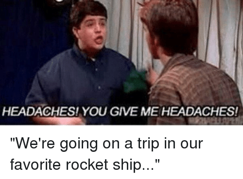 Were Going On A Trip In Our Favorite Rocket Ship