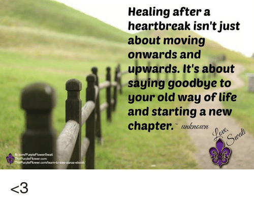 moving on after heartbreak