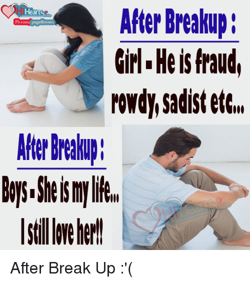 meeting girlfriend after break up I hope that now you know how to make your ex miss you after your breakup meeting up it sounds to me like this breakup i break up with de first girl of.