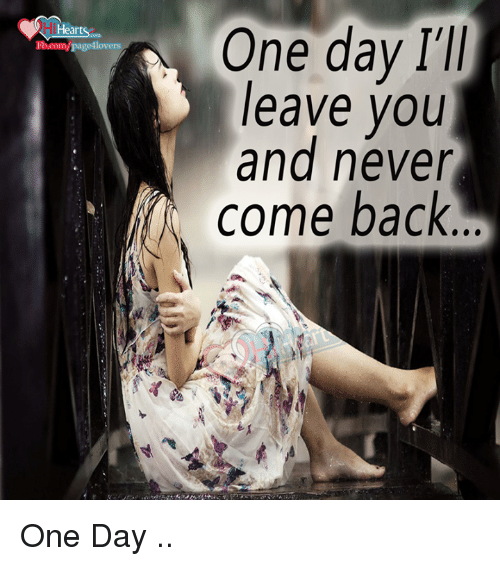 And Never Come Back