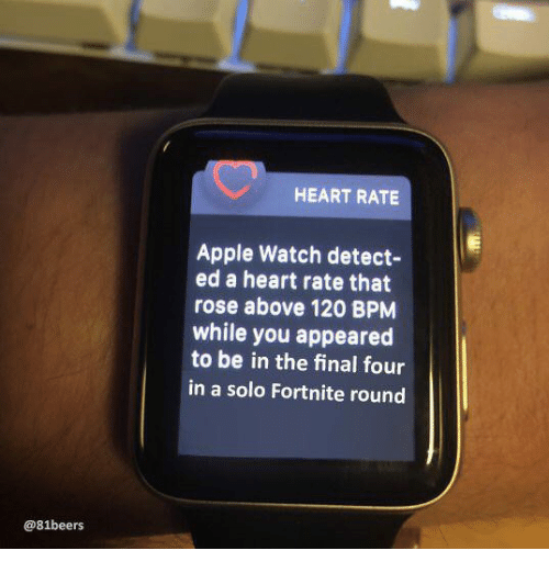 Heart Rate Apple Watch Detect Ed A Heart Rate That Rose Above 120