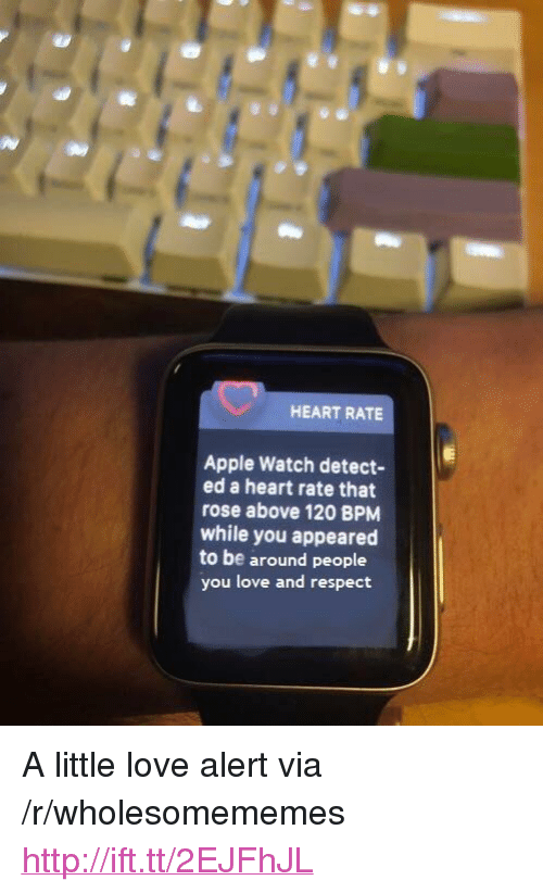 HEART RATE Apple Watch Detect- Ed a Heart Rate That Rose