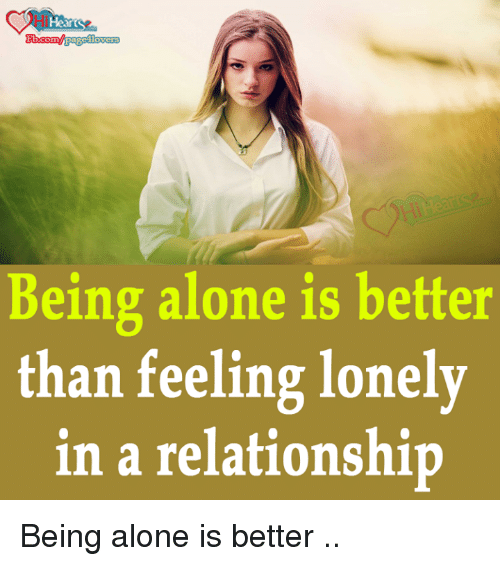 feeling lonely in a relationship meme