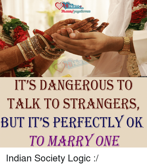 Talk to strangers in india