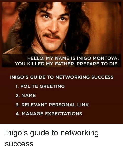 What Does Inigo Montoya Mean?   Fictional Characters by ...