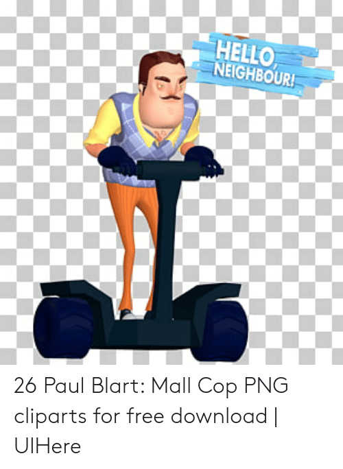 Hello neighbour! 26 paul blart mall cop png cliparts for free.