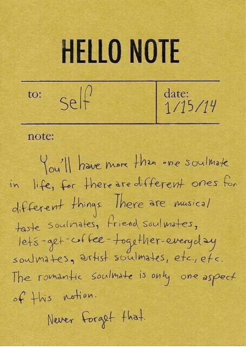 One hello dating