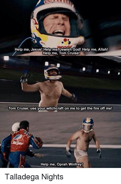 Fire, God, and Jesus: Help me, Jesus! Help me, Jewish God! Help me, Allah!