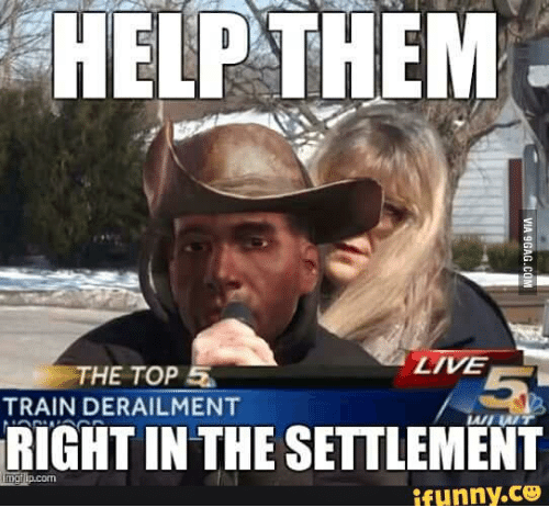 help them ztve the top 52 train derailment rightin the 14788085 25 best preston garvey settlement memes topping memes, funny co