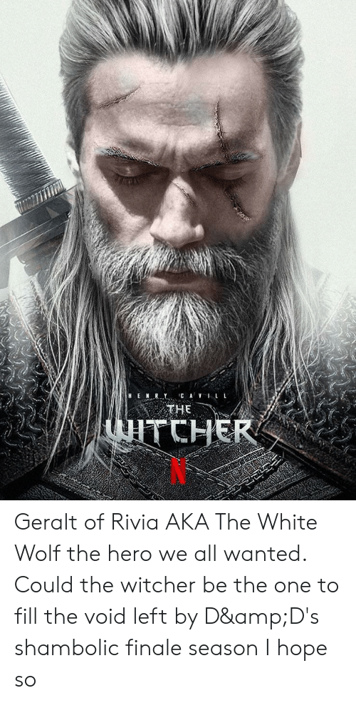 Hen Ry Ca Vll The Tcher Geralt Of Rivia Aka The White Wolf