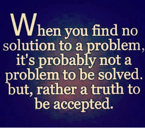 how to find a new solution to a problem