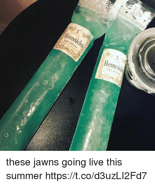 Funny, Jawns, and Summer: Henrysicles  5'ERY SPECIAL  Hennysicle  SERV SF) t1 these jawns going live this summer https://t.co/d3uzLI2Fd7