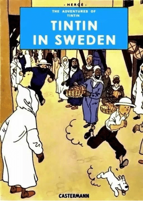 her e the adventures of tintin tintin in sweden castermann 19670825 her e the adventures of tintin tintin in sweden castermann