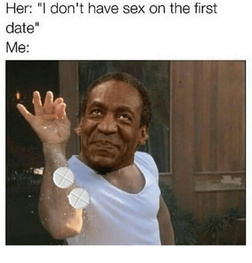 I have sex on the first date