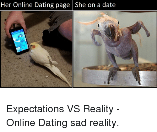Online dating expectation reality