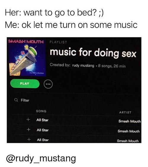 Playlists music to have sex to