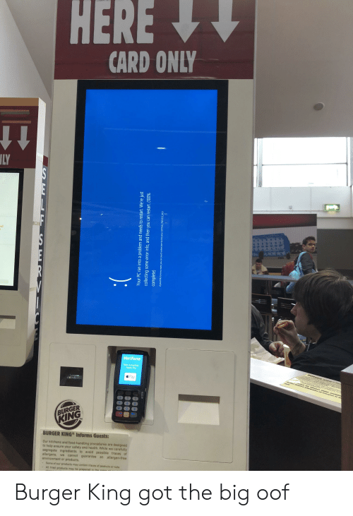 HERE CARD ONLY LY El Verifone Now Accepting Apple Pay Pay TM