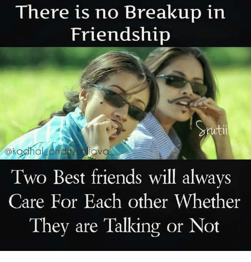 Here Is No Breakup In Friendship Utii Ava Two Best Friends Will