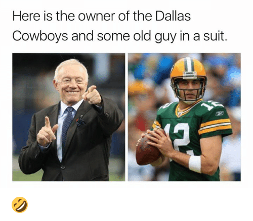 Here is the owner of the dallas cowboys and some old guy in a suit dallas cowboys nfl and dallas cowboys here is the owner of the dallas publicscrutiny Images
