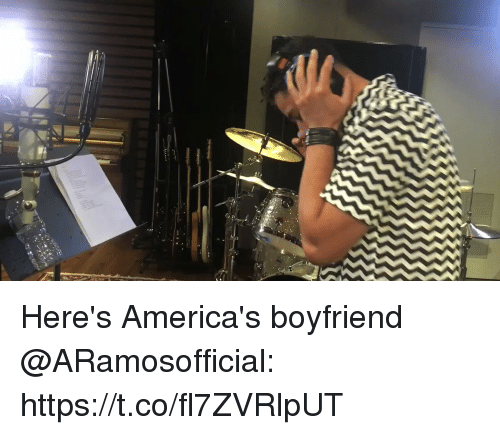 Memes, Boyfriend, and 🤖: Here's America's boyfriend @ARamosofficial: https://t.co/fl7ZVRlpUT