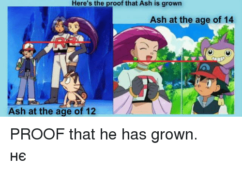 Ashe County Ford >> Here's the Proof That Ash Is Grown Ash at the Age of 14 ...