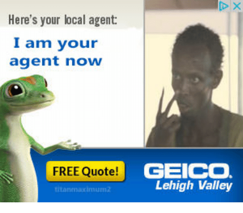 Geico Free Quote Magnificent Here's Your Local Agent I Am Your Agent Now Free Quote Geico