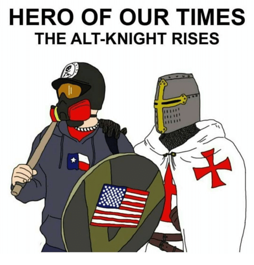 Hero Of Our Times The Alt Knight Rises Meme On Me Me