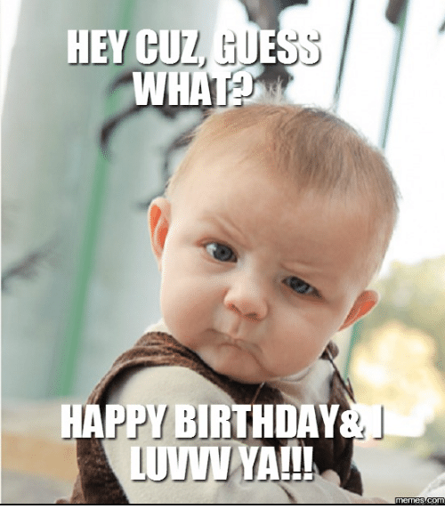 25+ Best Memes About Happy Birthday For Cousin