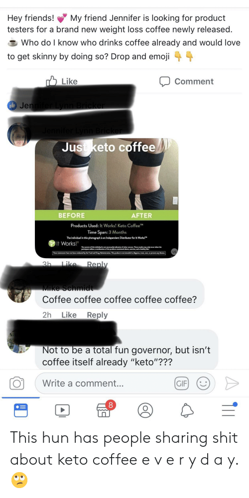 Hey Friends! Testers for a Brand New Weight Loss Coffee