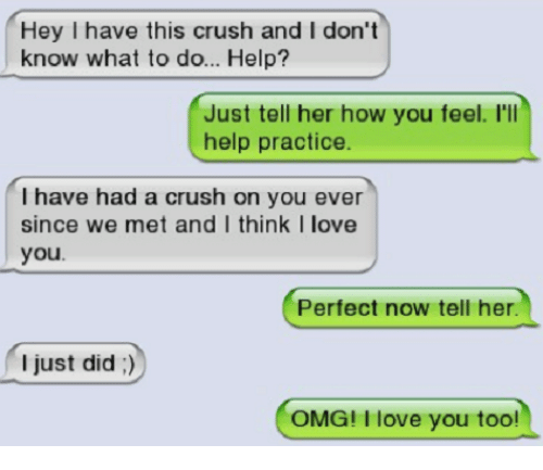 How do you feel when you have a crush