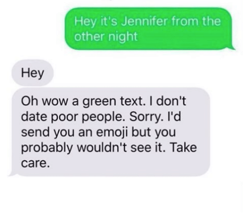 hey its jennifer from the other night hey oh wow 16324792 ✅ 25 best memes about green text green text memes
