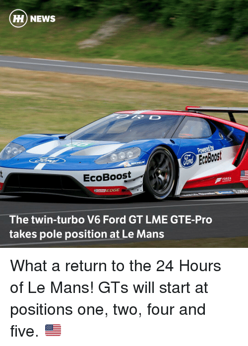 Hh News Ecoboost Edge Castrot The Twin Turbo V6 Ford Gt Lme Gte Pro
