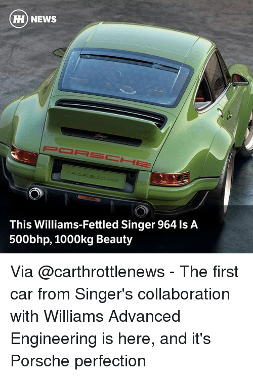 HH NEWS This Williams-Fettled Singer 964 Ls a 500bhp 1000kg