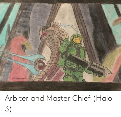 Hieratattack ద Arbiter And Master Chief Halo 3 Halo