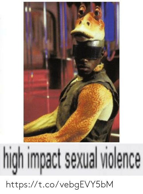 Impact, High, and Sexual: high impact sexual iolence https://t.co/vebgEVY5bM