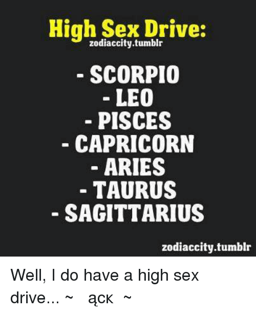 Do i have a high sex drive