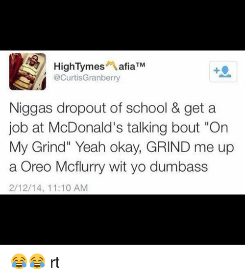 dropout of school