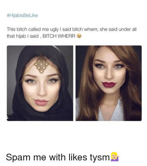 Hijab Ugly Girl