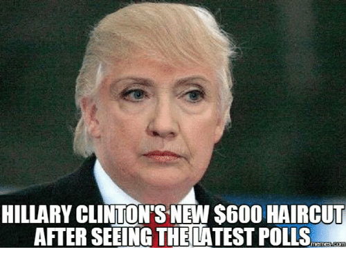 Hillary Clinton Haircut | Hillary Clinton S New S600 Haircut After Seeing The Latest Polls