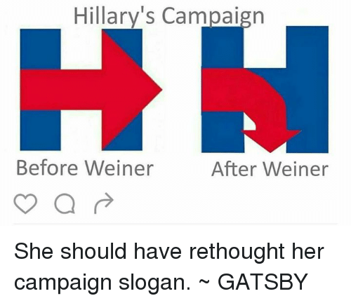 hillary s campaign before weiner after weiner she should have