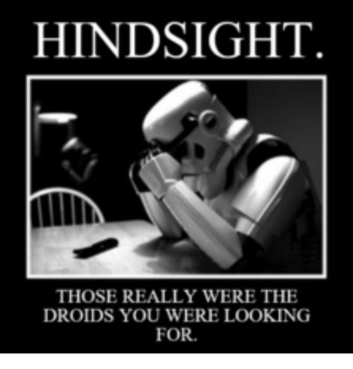 Image result for hindsight