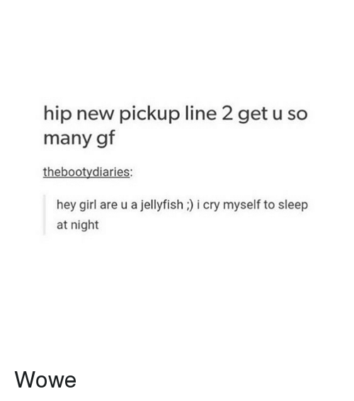 sleep pick up lines