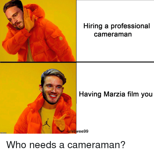 how to become a professional cameraman