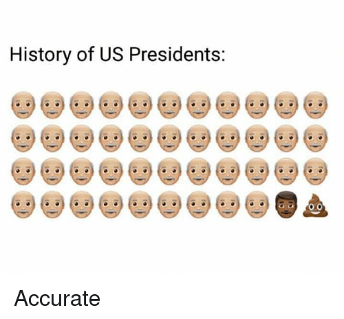 Memes, 🤖, and Us Presidents: History of US Presidents: Accurate