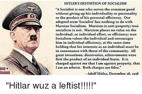 Httpwww Overlordsofchaos Comhtmlorigin Of The Word Jew Html: HITLER'S DEFINITION OF SOCIALISM A Socialist Is One Who
