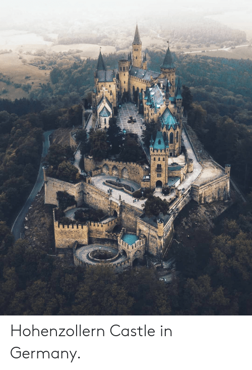Germany, Castle, and Hohenzollern: Hohenzollern Castle in Germany.