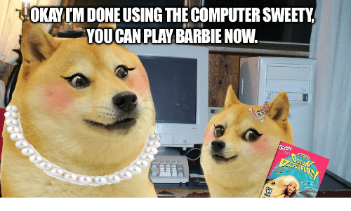 Barbie, Computer, and Can: HOKAYIM DONE USING THE COMPUTER SWEETY  YOU CAN PLAY BARBIE NOW.